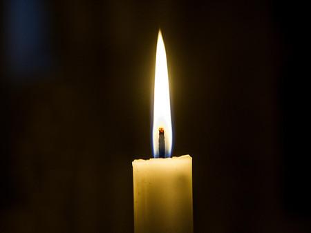 Billede af stearinlys
